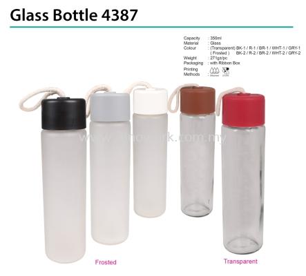 Glass Bottle 4387
