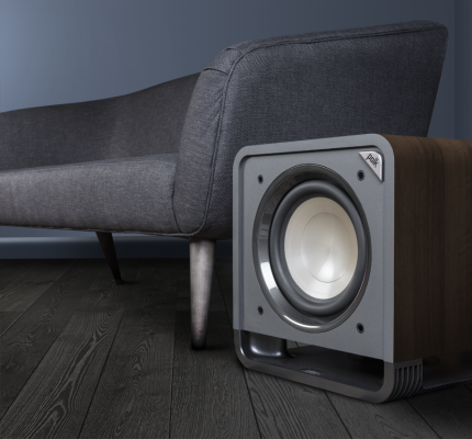 """POLKAUDIO HTS 12 12"""" Subwoofer with Power Port Technology"""