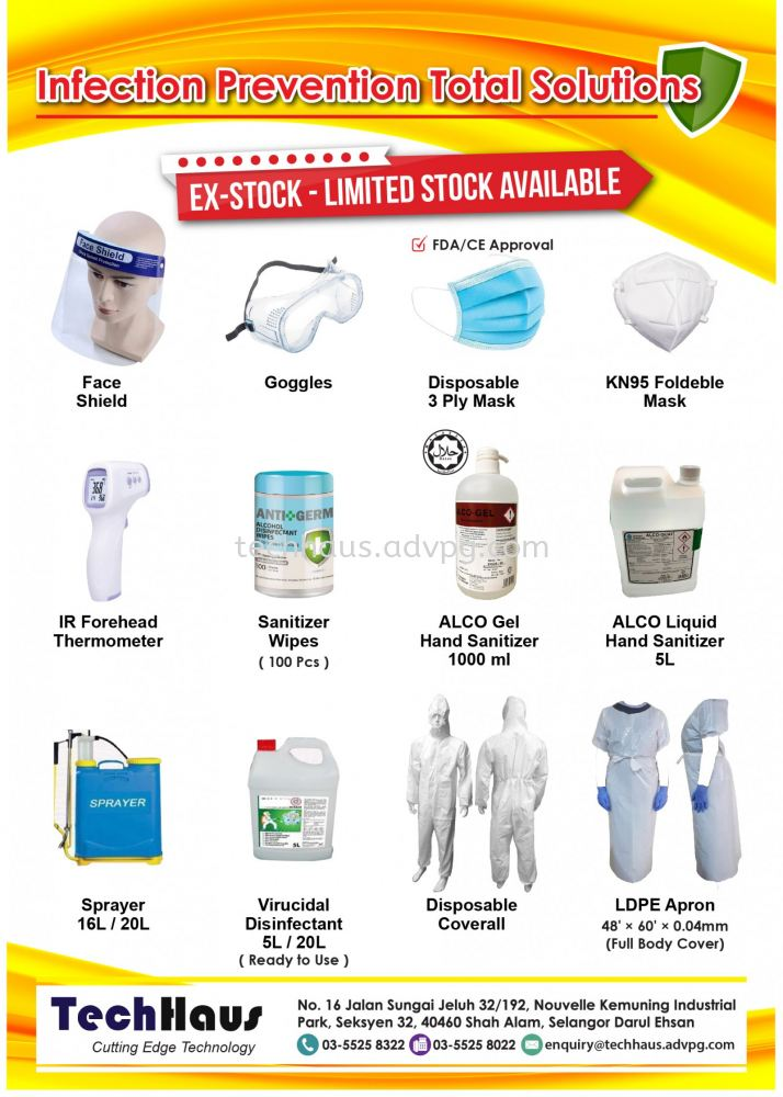 Infection Prevention Total Solution Promo