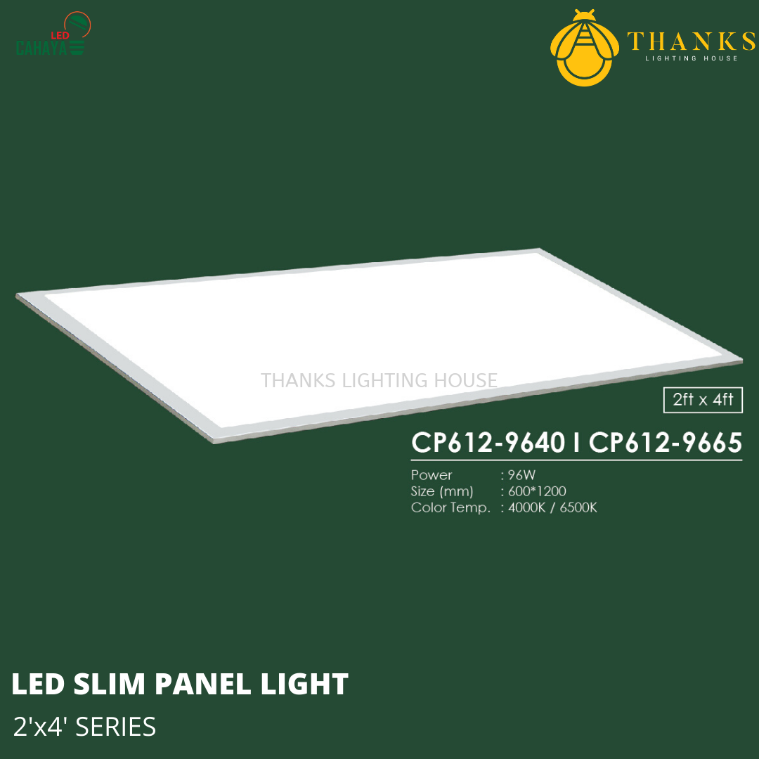 2x4 LED Slim Panel Light