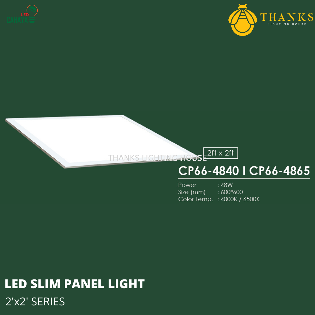 2x2 LED Slim Panel Light