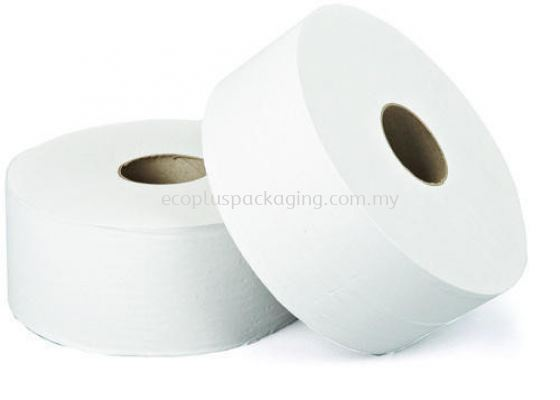 Jumbo Roll Tissue 130M - 2ply (100% Virgin Pulp)