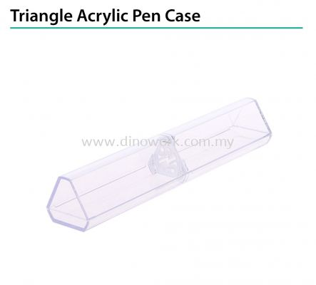 Triangle Acrylic Pen Case