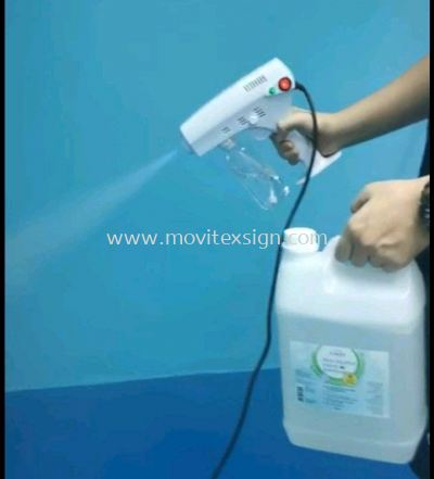 spray gun to remove virus COVID 19