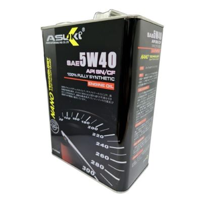 Asuki Nano 5w40 Fully Synthetic Engine Oil