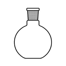 Favorit Flat Bottom Flask, Short Neck