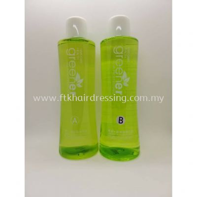 Greener cold perm lotion 1 & Neutralizer 2 1000ml