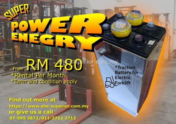 Rental Traction Battery
