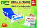 NL303S Hospital Bed 3 Functions (Manual) Manual Hospital Beds Hospital Beds