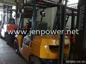 TOYOTA FORKLIFT FOR SALE & RENT