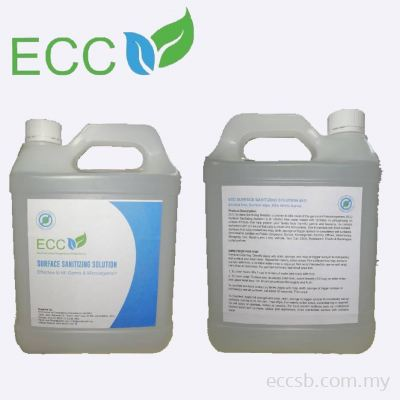 ECC Surface Sanitizing Solution