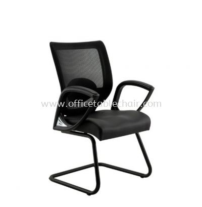 KASANO VISITOR MESH CHAIR WITH FIXED ARMREST ACL 5066 (A)