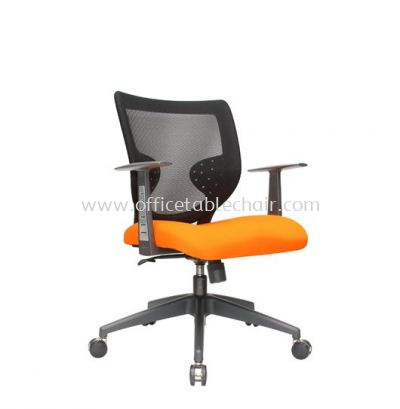 KASANO 2 LOW BACK MESH CHAIR WITH POLYPROPYLENE T SHAPE ARMREST ACL 511 (A)