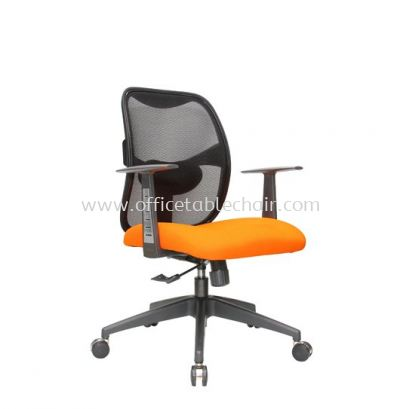 KASANO 2 LOW BACK MESH CHAIR WITH POLYPROPYLENE T SHAPE DESIGN ARMREST ACL 522 (A)