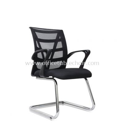 KASANO 3 VISITOR MESH CHAIR WITH CHROME CANTILEVER BASE ACL 517
