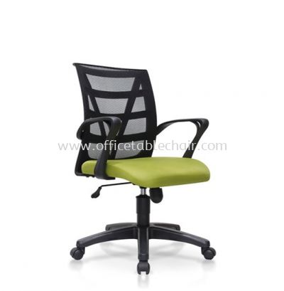 KASANO 3 LOW BACK MESH CHAIR WITH POLYPROPYLENE BASE ACL 528