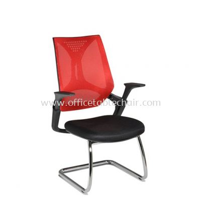 KLIPPAN VISITOR MESH CHAIR WITH CHROME CANTILEVER BASE AKP-3