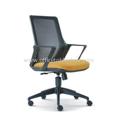 REAL LOW BACK MESH CHAIR WITH ROCKET NYLON BASE ASE 2693