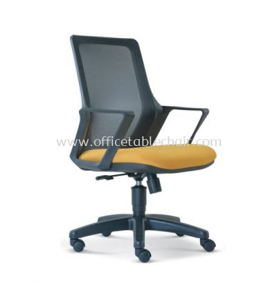 REAL LOW BACK MESH CHAIR WITH POLYPROPYLENE BASE ASE 2694