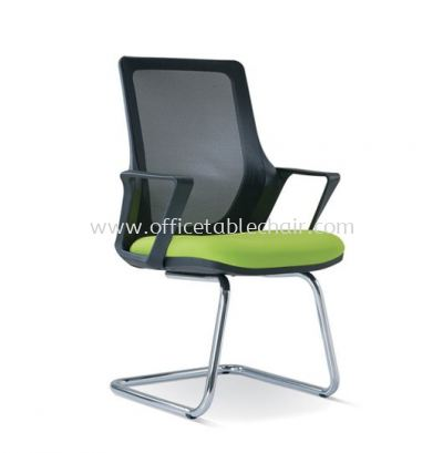 REAL VISITOR MESH CHAIR WITH CHROME CANTILEVER BASE ASE 2695