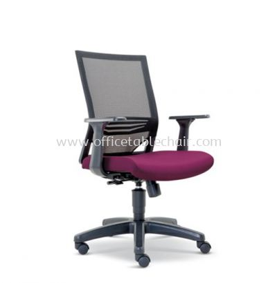 RELEASE LOW BACK MESH CHAIR WITH POLYPROPYLENE BASE ASE 2614