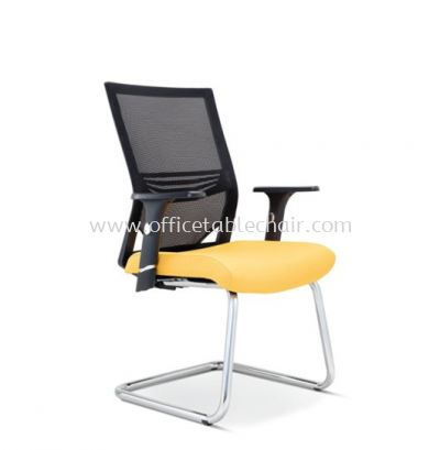 RELEASE VISITOR MESH CHAIR WITH CHROME CANTILEVER BASE ASE 2616
