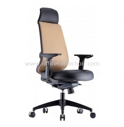 RICO 2 HIGH BACK CHAIR WITH NYLON ROCKET BASE