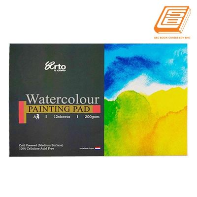 Campap A3 Watercolour Painting Pad 200gsm