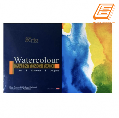Campap A4 Watercolour Painting Pad  300gsm