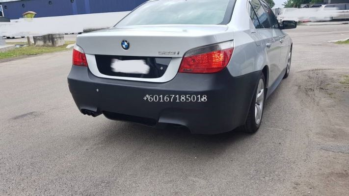 bmw e60 5series bodykit rear bumper m5 for e60 replace upgrade performance look pp material new set