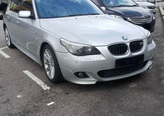 bmw e60 5series front bumper msport for e60 replace upgrade performance look pp material new set