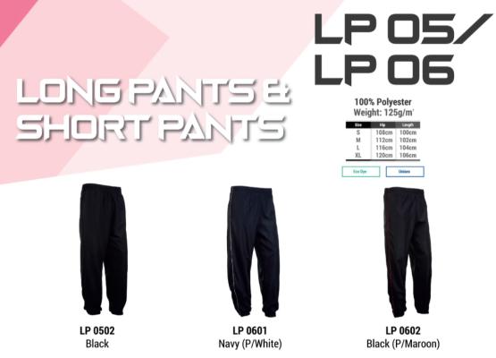 Sport Long Pants - LP 05