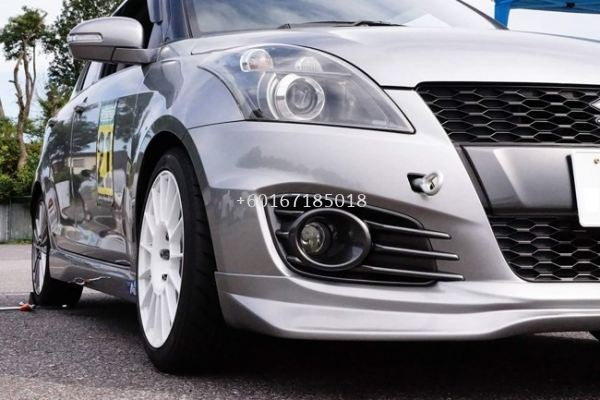 2012 2013 2014 2015 2016 suzuki swift zc32s sport front lip greddy style for sport bumper add on performance look frp material new set