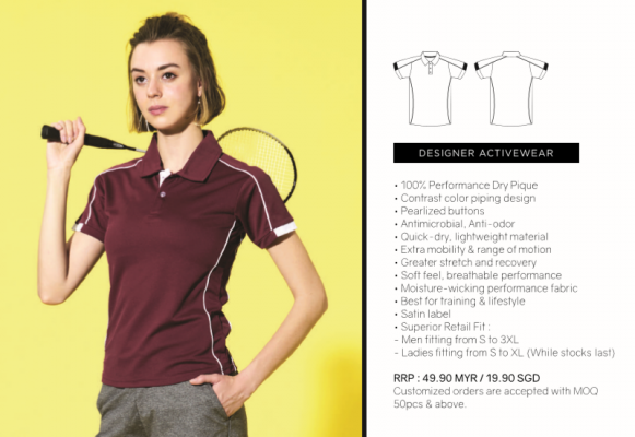 Finisher Polo Tee - CRP 1500