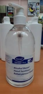 PPE 14   DIVERSEY SOFTCARE MED H5 (ALCOHOL BASED HAND SANITIZER) SIZE : 500ML