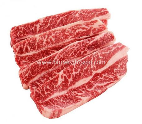 US BONELESS SHORT RIB LA 500G (CUT 1CM THICK)