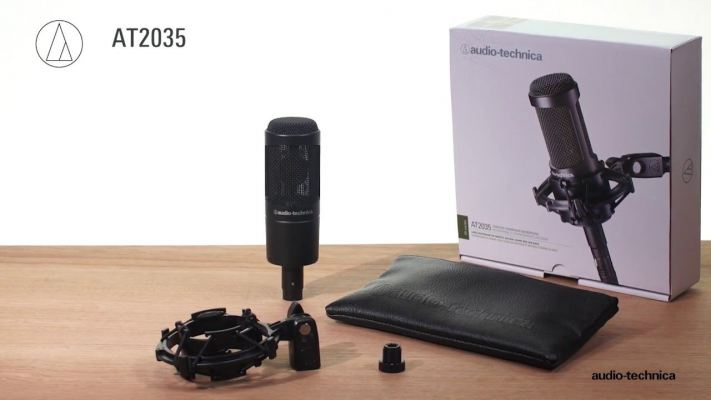 Audio Technica AT2035 Cardiod Condenser Microphone