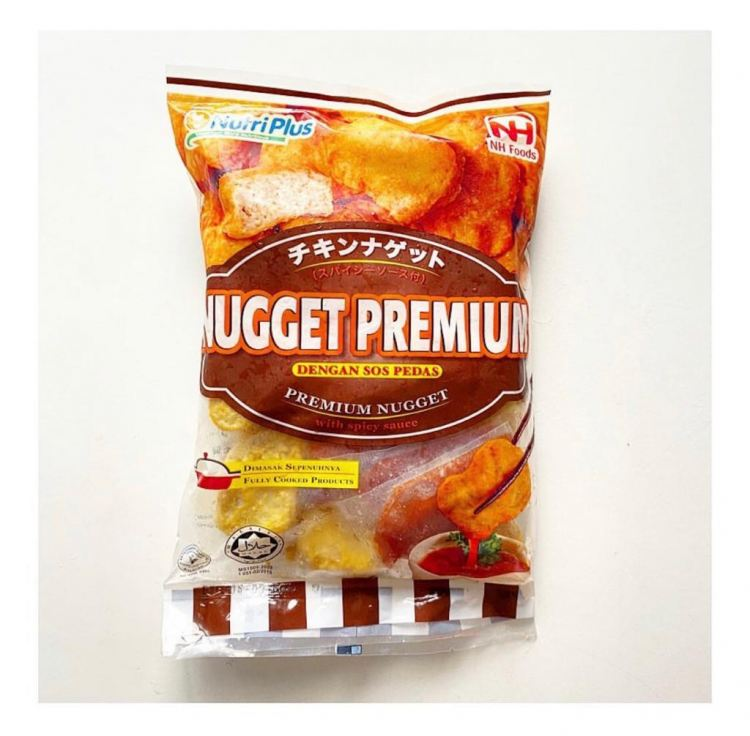 NutriPlus Premium Nuggets with Spicy Sauce (800 gm)