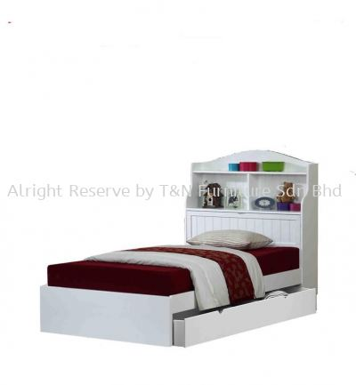 LW STORAGE SUPER SINGLE BED NOT INCLUDE DRAWER BOX