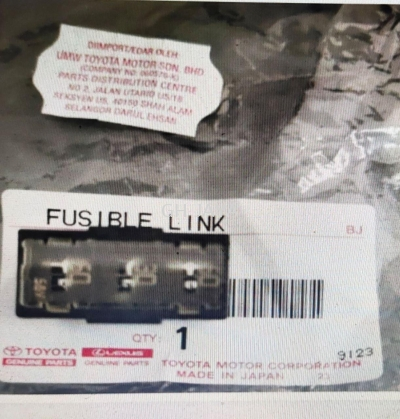 TOYOTA VIOS NCP150 14Y- FUSE LINK  [ FUSIBLE LINK ] [ MAIN FUSE ]