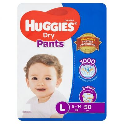 Huggies Dry Pants L 50pcs