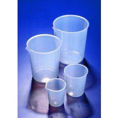 Azlon PP Beaker, tapered with moulded graduation