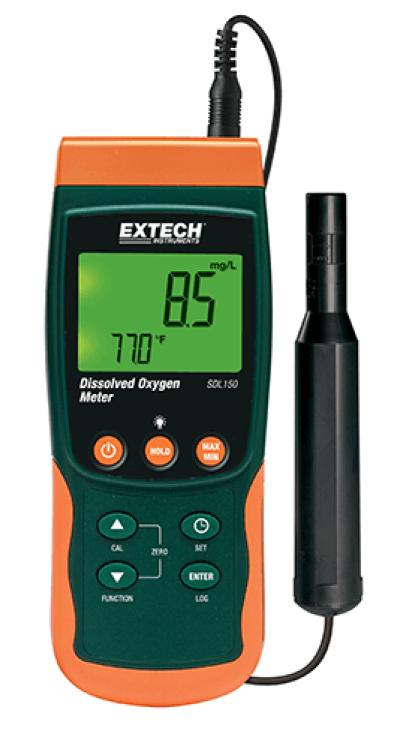 Extech SDL150 Dissolved Oxygen Meter/Datalogger