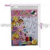 Colour Pencil Colouring Game - Girl Crash (T29-DB-019)