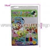 Colour Pencil Colouring Game - SpongeBob (T29-DB-005)