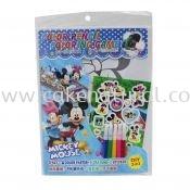 Colour Pencil Colouring Game - Mickey (T29-DB-012)