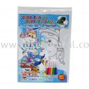 Colour Pencil Colouring Game - Super Wings (T29-DB-027)