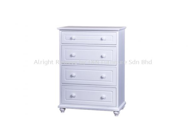 VICTORIA 4 DRAWER TALLBOY