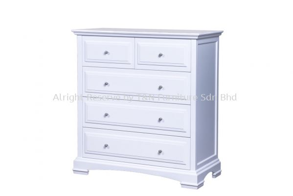 CZAR 5 DRAWER TALLBOY