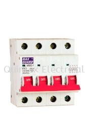 MB63-1 Series (6kA MCB) 4 Pole